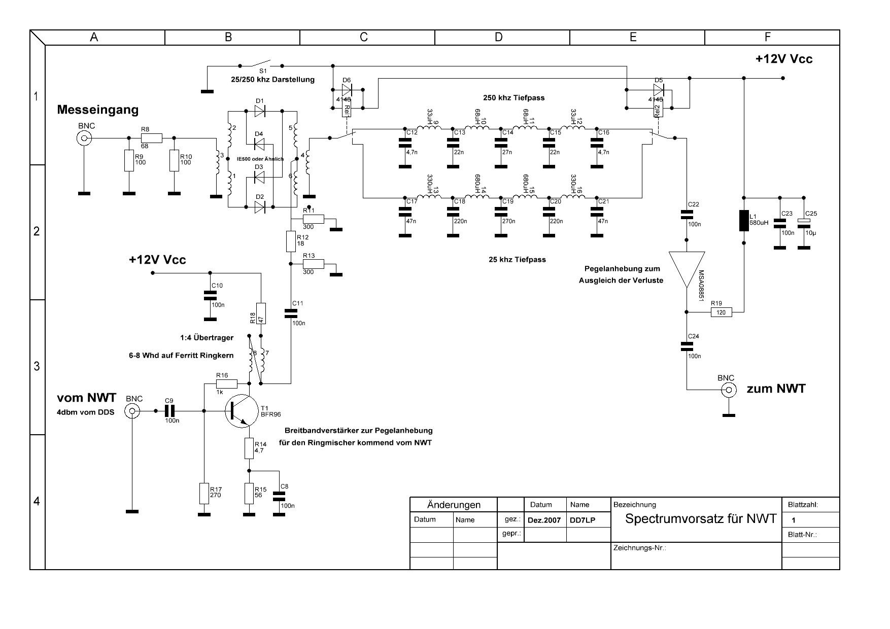 Аудио анализатор спектра схема 11 фотография